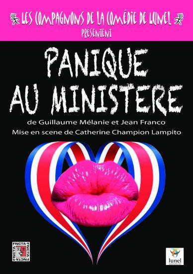 Affiche panique au ministere fncta